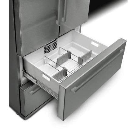 Smeg Frigorifero Side by Side French Door / 2 porte + 2 cassettoni - Fq55fx1