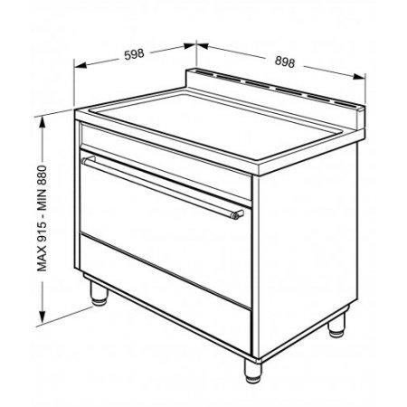 Smeg Cucina a gas forno elettrico - B91gmxi9