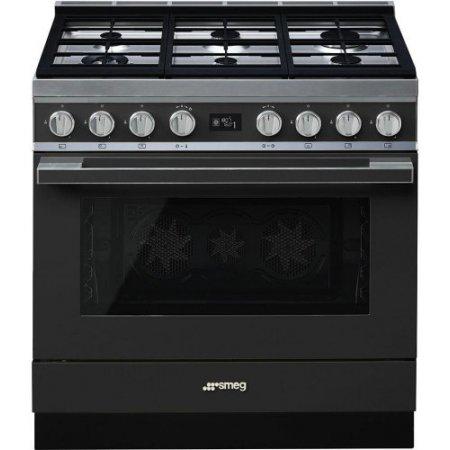 Smeg Cucina a gas forno elettrico - Cpf9gpan