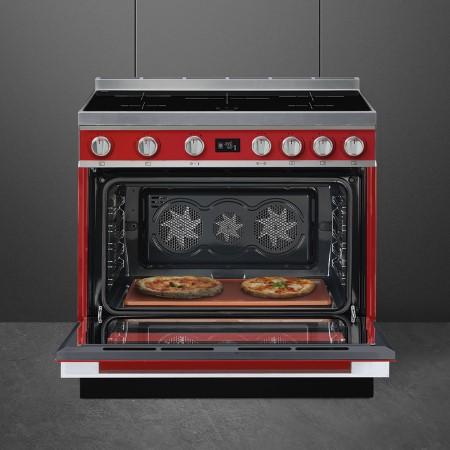 Smeg cucina Portofino piano cottura a induzione - Cpf9ipr