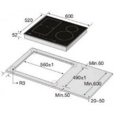 Samsung Piano cottura ad induzione - Nz63k7777bket