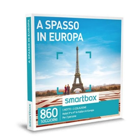 Smartbox 1 notte con colazione per 2 persone - A Spasso In Europa