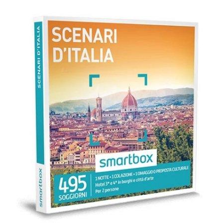 Smartbox 1 notte con colazione, 1 omaggio per 2 persone - Scenari D'italia