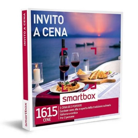 Smartbox 1 menù di tre portate per 2 persone - Invito A Cena