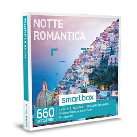 Smartbox 1 notte con colazione per 2 persone - Notte Romantica