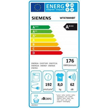 Siemens Asciugatrice a condensazione - Wt47xmh8it