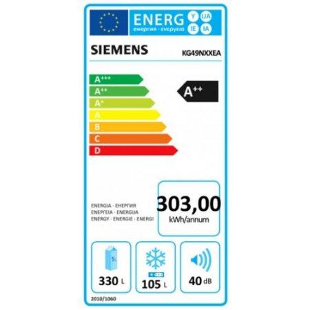 Siemens Frigo combinato 2 porte no frost - Kg49nxxea