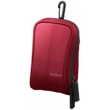 Sony Custodia fotocamera - Lcscswr Rosso