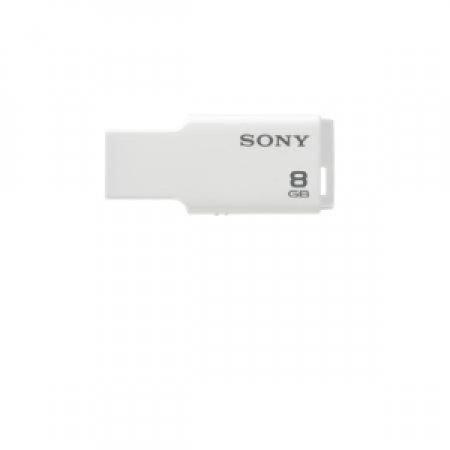 SONY Pen Drive USB - MICROVAULT STYLE 8GB WHITE USM8GM