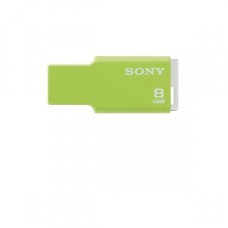 SONY - MICROVAULT STYLE 8GB GREEN USM8GMG