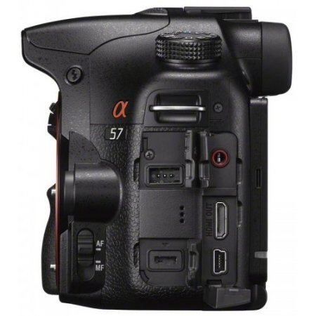 Sony Fotocamera ibrida - Slt-a57k + 18-55mm Nero