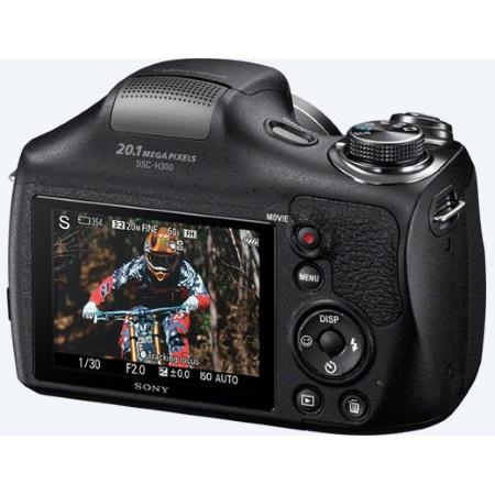 Sony Sensore CCD da 20.1 Mpx - DSC-H300 Black