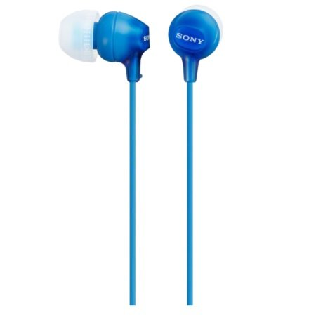 Sony - MDR-EX15LP Blue