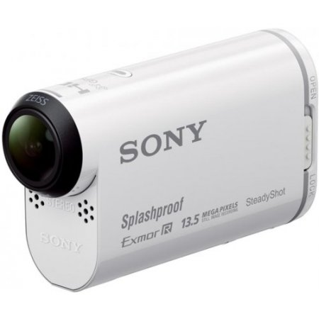 Sony Action cam - Hdr-as100vr Bianco