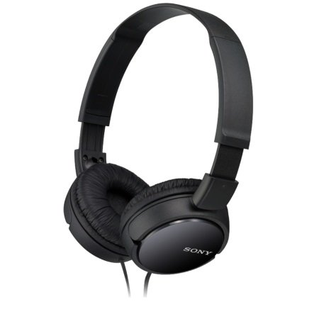 Sony - MDR-ZX110 Black