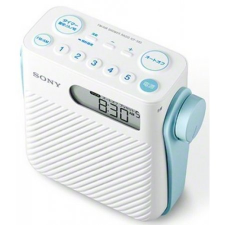 Sony Radio digitale - Icf-s80  Bianco