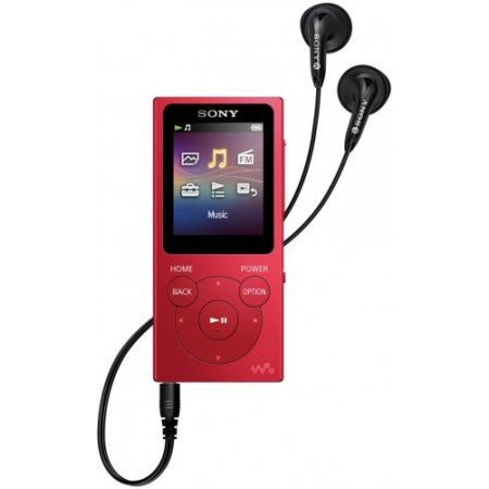 Sony Lettore mp3 8gb. - Nwe394rcew  Rosso