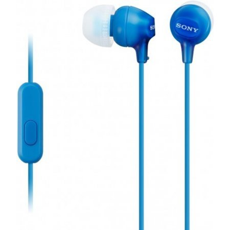 Sony Auricolari con filo - Mdr-ex15ap  Blu