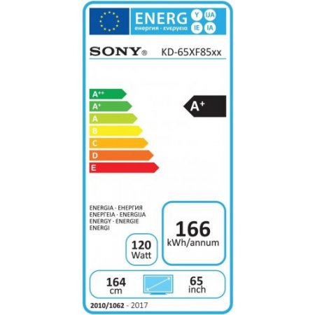 "Sony Tv led 65"" ultra hd 4k hdr - Kd-65xf8596"