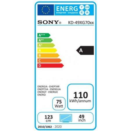 "Sony Tv led 49"" ultra hd 4k hdr - Kd49xg7096baep"