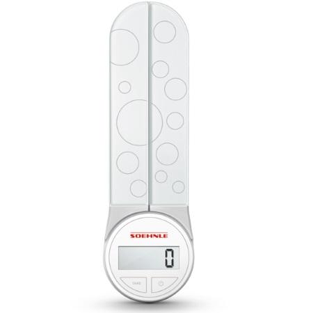 Soehnle Bilancia digitale da cucina - Genio White - 66226