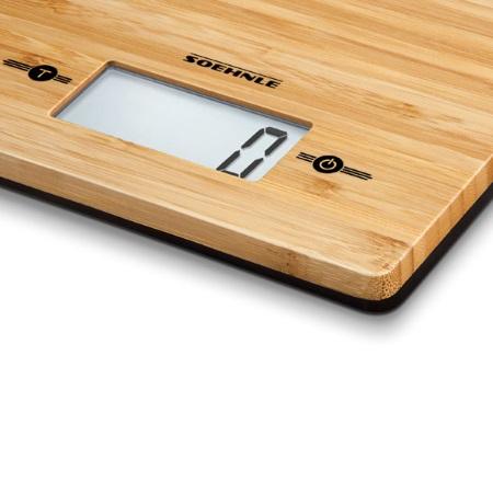 Soehnle Bilancia digitale da cucina - Bamboo - 66308