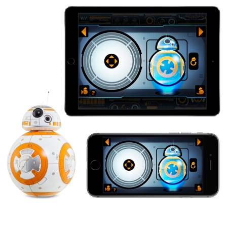 Sphero Droide app-enabled: tramite iPhone o iPad - Droide Bb-8 Star Wars