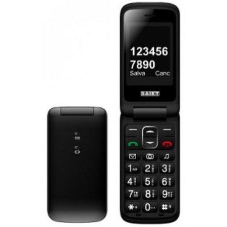 Saiet Cellulare dualband gsm - Compact Nero