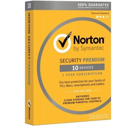 Symantec - Norton Security Premium 3.0 25GB 10 Dispositivi