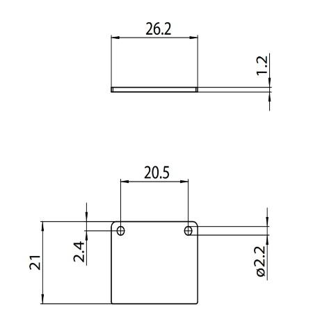 Targetti - Tappo di Chiusura per Binario Standard - 9504/st1-b