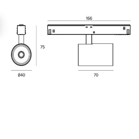 Targetti - Label 6 48V - 1T6661DA