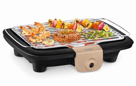 Easy grill Tefal Barbecue elettrico Barbecue elettrico - Bg90c814 Nero