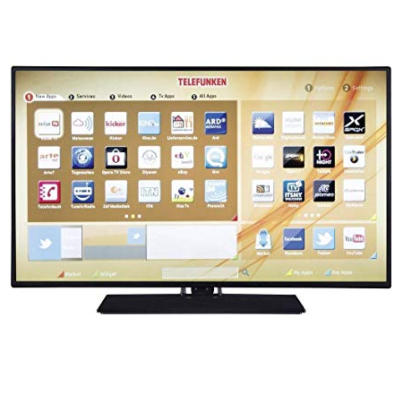 "Telefunken Tv led 24"" hd - Te24472b40y21bw"