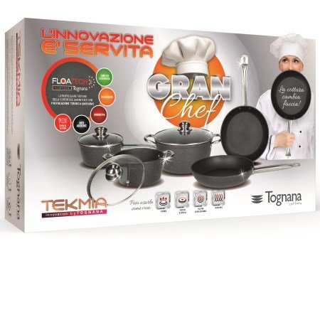 Tognana - Kit Tekmia Gran Chef - Batteria 8pz V449108plus