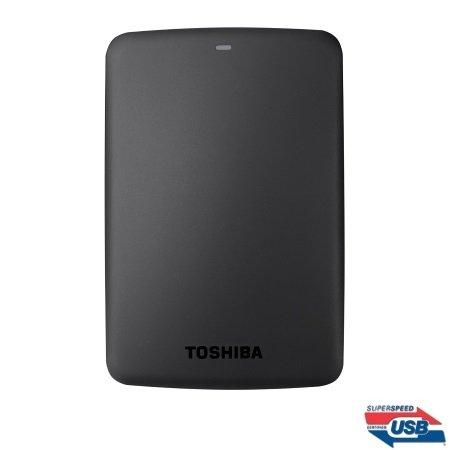 Toshiba - Canvio Basics 1TB Nero