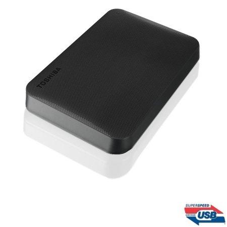 Toshiba Hard Disk Esterno portatile - Canvio Ready 2TB Black Hdtp220ek3ca