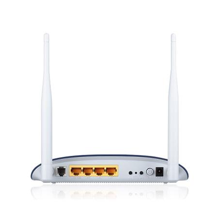 Tp Link Modem ADSL2/2 + Wi-Fi N300 - TD-W8960N