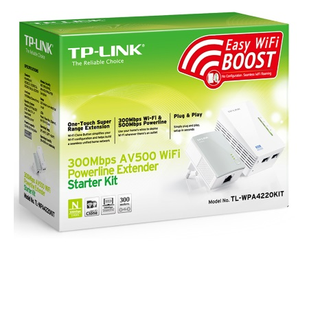 Tp Link Kit Powerline - Tl-wpa4220kit