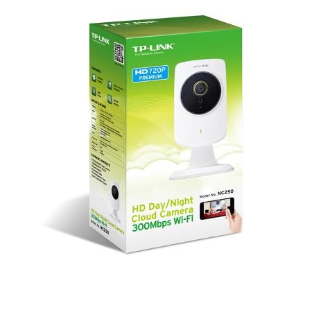 Tp Link Videocamera IP di sicurezza - Cloud HD Giorno/Notte Nc250