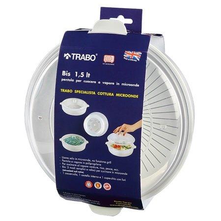 Trabo - Bis Set cottura Vapore - Ecmtr66
