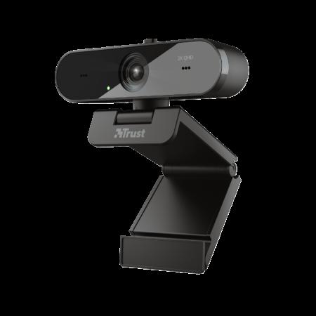 Trust Italia S.r.l. QHD Webcam microfono incorporato