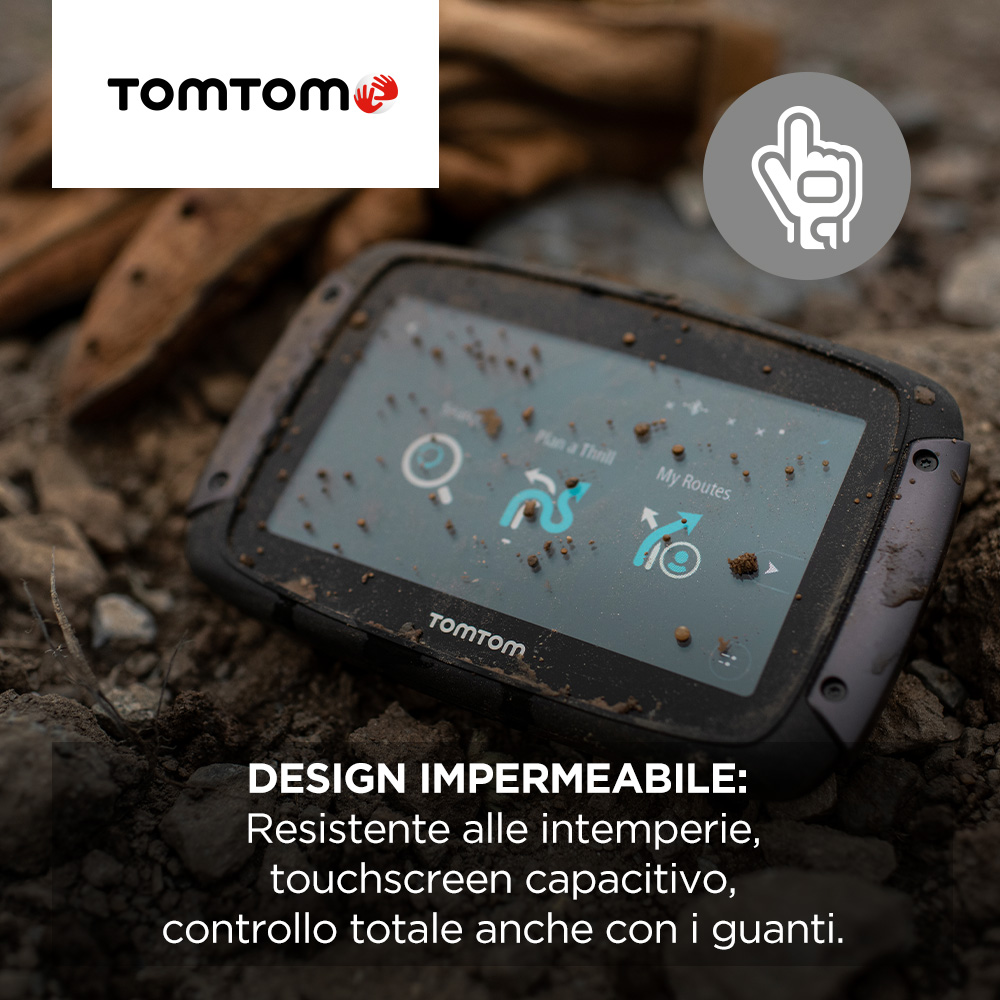 Tom Tom Navigatore gps all in one - Rider 500 1gf0.002.0