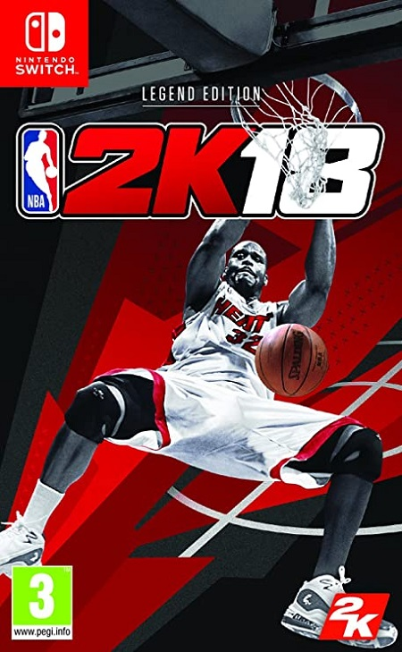 SWITCH NBA 2K18 (LEGEND EDITION)