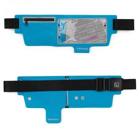 Tucano Srl Marsupio porta-smartphone: ideale per lo sport - Marsupio Swstb47-z Blu