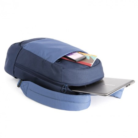 "Tucano Srl Zaino per Notebook e Ultrabook da 15.6"" - Svago 15.6"" Blue Bksva-b"