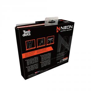Two Dots Cuffia per gaming compatibile con PS4, Switch e Xbox One - Tdgt0060 Cuffie Gaming Neon