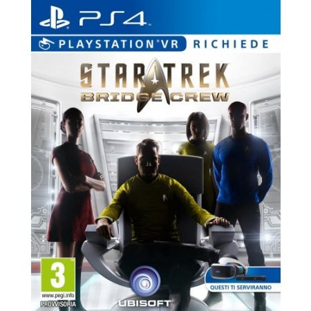 Ubisoft Gioco adatto modello ps 4 - Ps4 Vr Star Trek: Bridge Crew 300089601