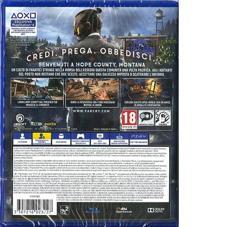 Ubisoft Gioco adatto a ps 4 - FAR CRY 5 - 300094229