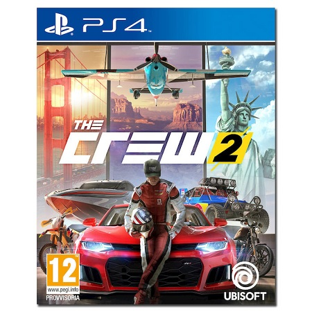 Ubisoft Gioco adatto modello ps 4 - The Crew 2 Ita Ps4
