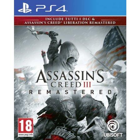 Ubisoft Gioco adatto modello ps 4 - Ps4 Ac 3 + Ac Liberation Remaster